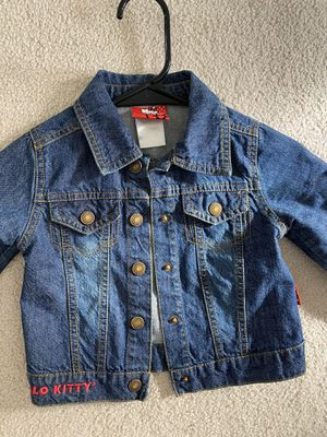 Hello kitty jeans jackets 2t for Sale in Fairfax, VA
