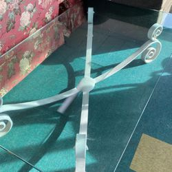 Large Iron & Glass Coffee Table for Sale in Seattle,  WA