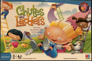 CHUTES AND LADDERS BOARD GAME for Sale in Park Ridge, IL