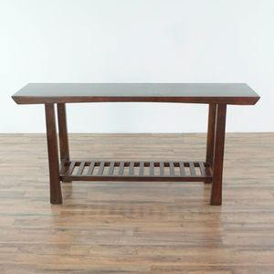 Asian Inspired Wood Console Table (1035478) for Sale in South San Francisco, CA