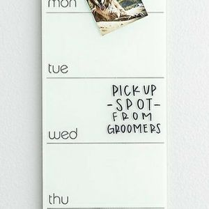 New Very Elegant Glass Dry Erase Magnetic Weekly Planner for Sale in Los Angeles, CA
