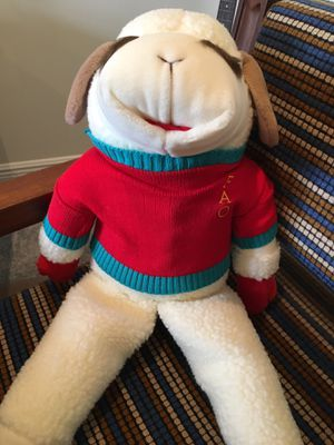 Large stuffed animal Lamb Chop new for Sale in Pembroke Park, FL