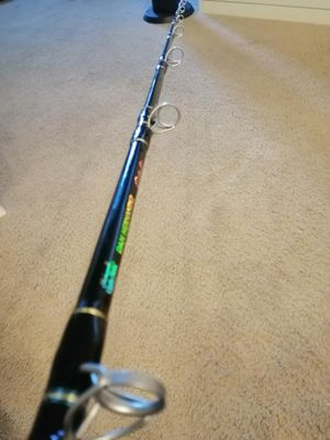 NEW DAN HERNANDEZ TUNA ROD jigging bluefin rock fishing yoyo heavy jig stick casting halibut flounder grouper pole fish offshore ugly stick trolling for Sale in La Habra Heights, CA
