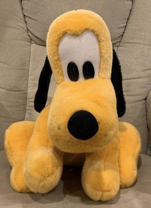 Pluto Large Plush Dog Stuffed Animal Genuine Disney World! for Sale in Lemont, IL