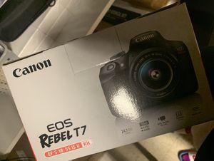Canon EOS Rebel T7 camera for Sale in Atlanta, GA