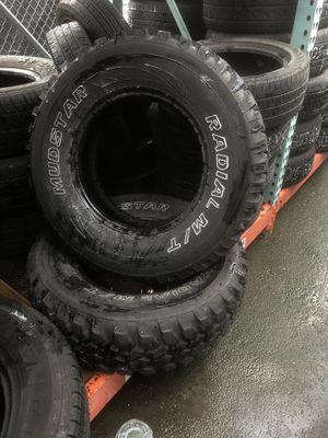 235/75/15 LT Mud terrain for Sale in Tacoma, WA