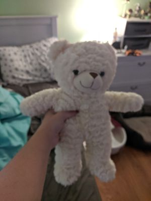 Soft White Teddy Bear for Sale in Tampa, FL