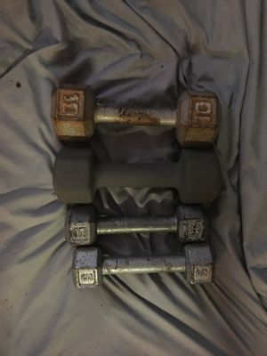 Dumbells 10s and 5s for Sale in Phoenix, AZ