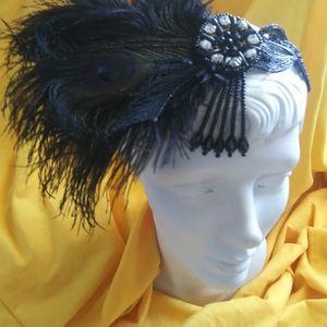 NEW HEADWEAR BLACK OSTRICH for Sale in Simpsonville, SC