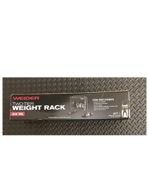Weider 2 tier weight rack for Sale in Pembroke Pines, FL