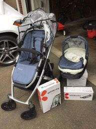 Uppa Baby Stroller, Bassinet, Accessories Lot for Sale in Bellevue, WA
