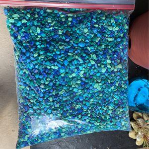 Imagitarium Blue Jean Aquarium Gravel, 10 lb for Sale in Hialeah, FL