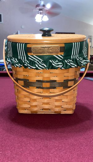 Longaberger Christmas collection 1998 basket for Sale in San Dimas, CA