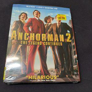 ANCHORMAN 2 (BLU RAY) for Sale in Phoenix, AZ