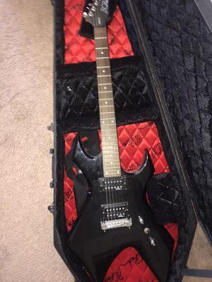 B.C Rich Electric Guitar w/ Music Village Amplifier for Sale in Bunker Hill, WV