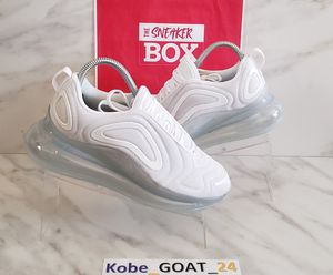 Nike Air Max 720 Women's White Platinum Size 7 for Sale in San Diego, CA