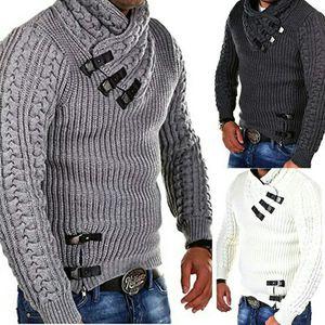 SMONSDLE Cardigan Sweater Coat 2019 New Men Autumn Winter Fashion Solid Sweaters Casual Warm Knitting Jumper Sweater Male Coats for Sale in Alafaya, FL