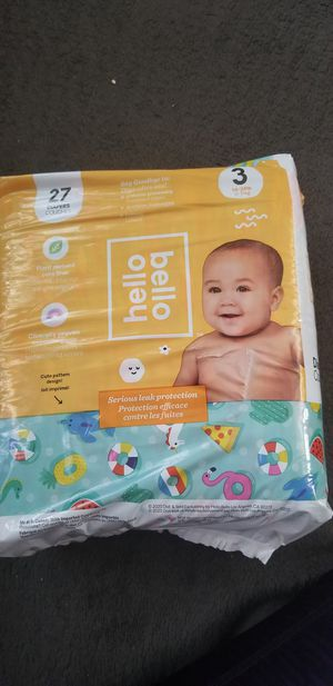 Diapers size 3 for Sale in St. Petersburg, FL
