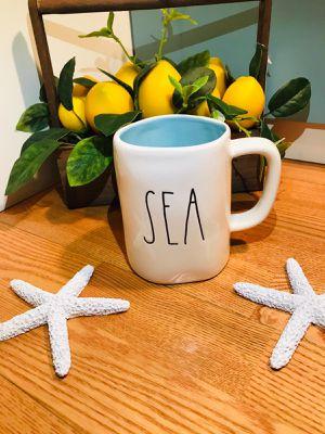 Rae Dunn Sea mug (aqua inside) for Sale in Los Angeles, CA
