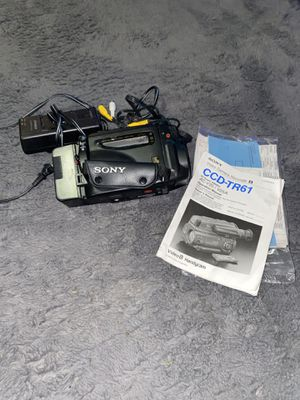 SONY Model CCD-TR61 Video 8 Camcorder Video Transfer System for Sale in Breckenridge Hills, MO