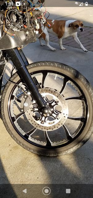 Performance machine 21 matching rotors I'll throw in the f****** fender for free for Sale in Santa Maria, CA