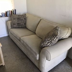 Beige Tan Brown Soft Couch Sofa for Sale in Clearwater, FL