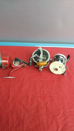 3 vintage fishing reels for Sale in Vancouver, WA