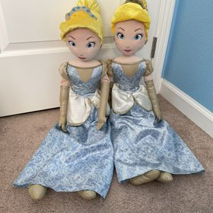 Disney Princess Plush Doll-big for Sale in San Bernardino, CA