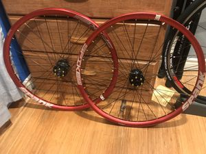 Spank spike custom wheelset 26 for Sale in Costa Mesa, CA