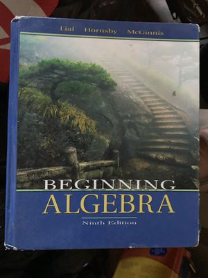 Beginning algebra for Sale in Whittier, CA