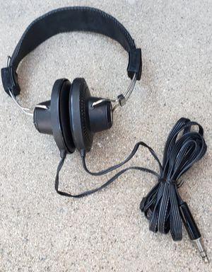 RARE Vintage RYSTL SH-806rv Headphones 1970's Working Nice for Sale in Lake Elsinore, CA
