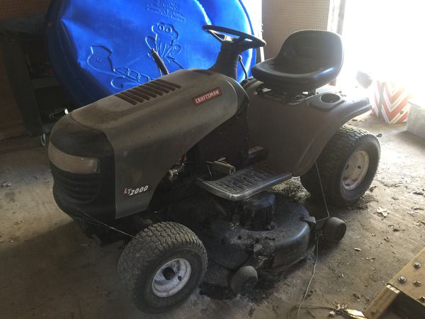 Delivery Included, Craftsman LT2000 Riding Mower, Price Negotiable