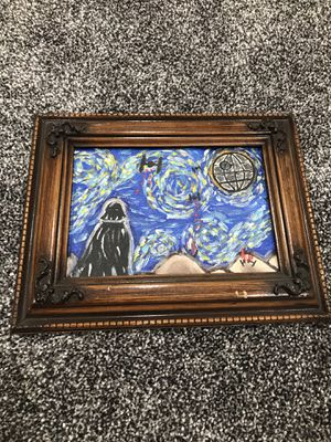 Star Wars Painting 7 1/2 x 9 1/2 inches for Sale in Ontario, CA