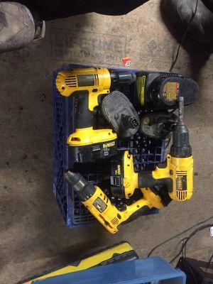 Dewalt drills lot all work for Sale in Edison, OH