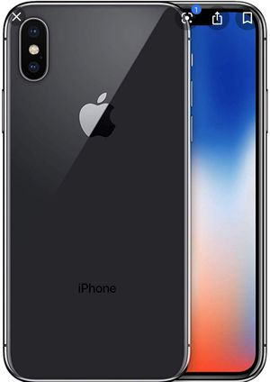 iPhone X 256 gig factory unlocked with all carriers for Sale in Nashville, TN