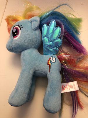 "7"" TY Sparkle My Little Pony Rainbow Dash Sparkle Plush Stuffed Animal for Sale in Centreville, VA"
