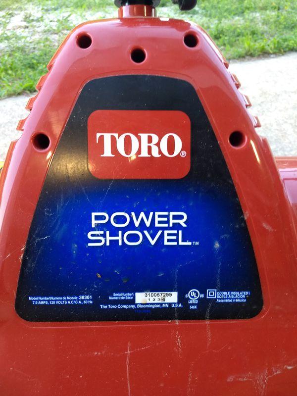 Toro Snow Blower and Power Shovel