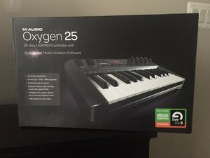 MAudio Oxygen 25 Keyboard for Sale in Fairfax, VA