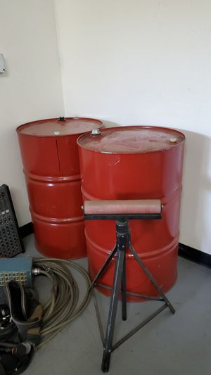 storage barrels for gas or whatever for Sale in Upland, CA