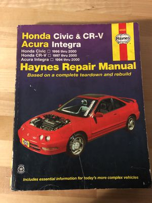 2000 acura integra service manual