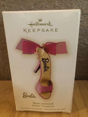 2009 Barbie Shoe-Sational! Hallmark Keepsake Ornament for Sale in St. Louis, MO
