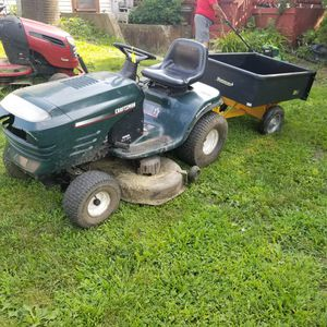 Craftsman riding mower tractor ( free delivery) for Sale in Bolingbrook, IL