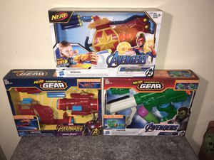 Nerf Marvel Avengers Blaster Systems for Sale in Los Angeles, CA