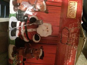 Singing santa and friends for Sale in Manassas, VA