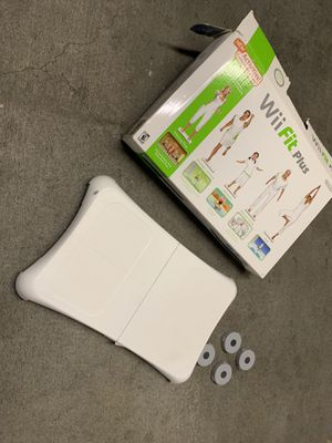 Wii fit plus for Sale in Charlotte, NC