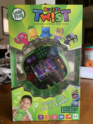 LeapFrog RockIt Twist Game System Green Handheld Learning Interactive VTech for Sale in Fairfield, CA
