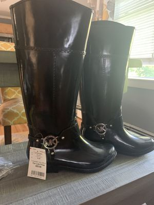 Michael Kors rain boots for Sale in Boston, MA