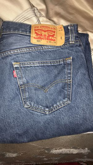 Levi's w 35 L 34 bought these in December for Sale in Cicero, IL