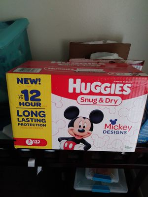 Huggies Diapers Size 3 for Sale in Crestview, FL