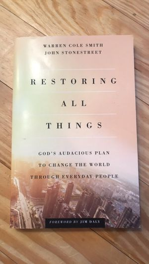 Restoring All Things Book for Sale in Lynchburg, VA
